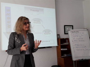 "Formation en ""Narrative Exposure <br> Therapy- NET"""