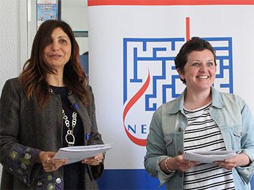Signature de protocole d'entente</br>NEBRAS/Handicap International</br> l'Institut Nebras